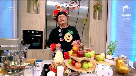 Rețeta Zilei - Neatza cu Răzvan şi Dani. Pachețele de toamnă, un desert delicios din doar trei ingredinte