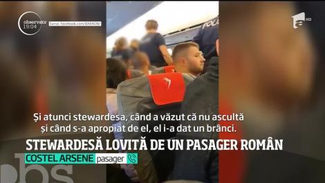 Un avion românesc cu peste 100 de oameni la bord a aterizat de urgenţă la Viena după ce un bărbat a lovit o stewardeză şi s-a certat cu mai mulţi călători