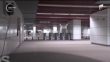 Ultimul termen pentru terminarea metroului din Drumul Taberei se apropie cu paşi repezi. Însă inaugurarea s-ar putea lăsa din nou aşteptată