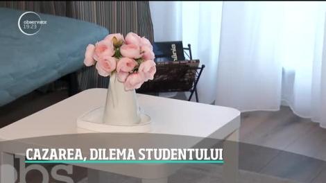 Cazarea, dilema studentului