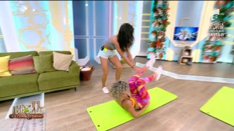 Neatza cu Răzvan și Dani. Instructorul Diana Stejereanu prezintă cel mai bun exercițiu de stretching