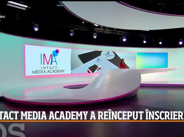 Au început înscrierile Intact Media Academy pentru cursuri de prezentator și reporter