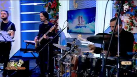 """Laura Bretan şi Vali Boghean Band cântă LIVE piesa """"Lie Ciocârlie"""". Soprana va cânta în PREMIERĂ la București."""