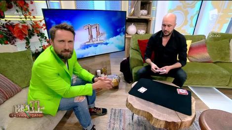 Neatza cu Răzvan şi Dani. Magicianul Johannes, noi trucuri incredibile cu cărțile de joc!