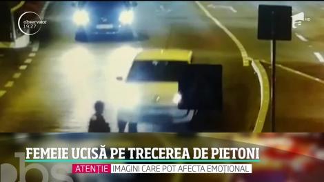Femeie ucisă pe o trecere de pietoni din Timișoara