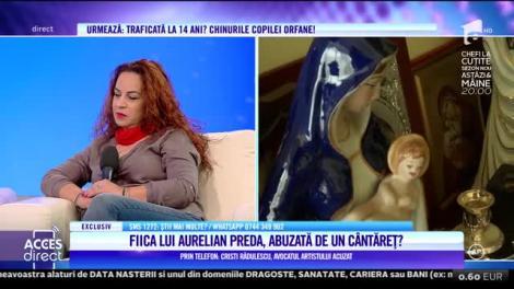 Acces Direct. Avocatul artistului acuzat de abuz de fiica cântăreţului Aurelian Preda: Respingem toate acuzațiile