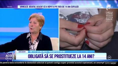 Acces Direct. Copilă răpită de pe stradă, drogată, bătută şi obligată să se prostitueze la 14 ani? Bunica: A fost arsă cu țigara