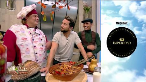 """Rețeta Zilei - Neatza cu Răzvan şi Dani. Vlăduț a pregătit """"Sarmale răsfățate"""""""