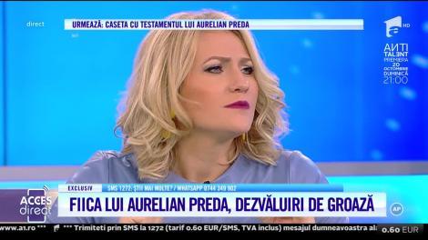 Artisul acuzat rupe tăcerea despre fiica lui Aurelian Preda: O nouă minciună marca Ana Maria Rosa