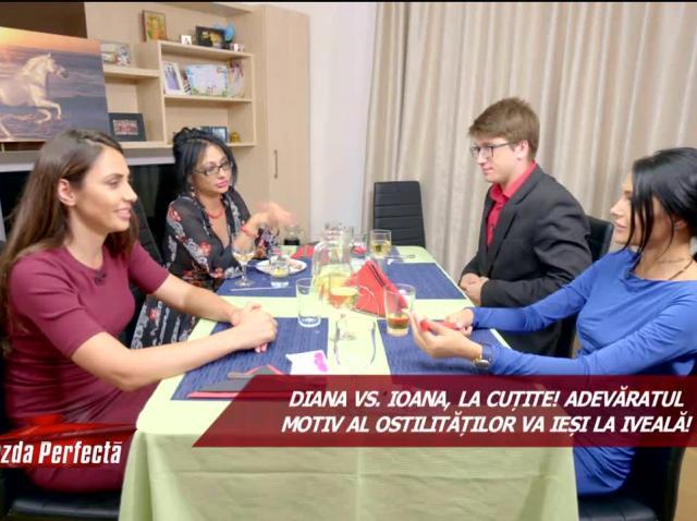 """Degustare cu scandal în casa lui Cristian! Diana de la Insula Iubirii a făcut show: """"La mine acolo la țară..."""""""