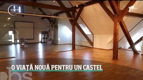 Castelul Bánffy din Sâncrai a primit o faţă şi o viaţă nouă