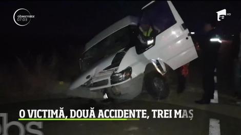 Serie neagră de accidente în Teleorman! Un om a murit