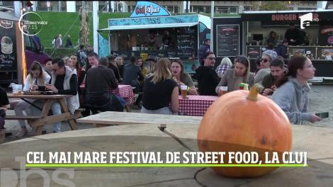 Cel mai mare festival de street food are loc la Cluj Napoca