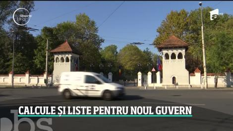 Calcule și liste pentru noul Guvern! Se discută despre un executiv condus de Ludovic Orban cu mai puţine ministere
