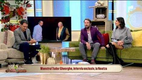 """Tudor Gheorghe,la """"Neatza cu Răzvan și Dani""""! I-a dat o replică memorabilă lui Răzvan și a făcut o glumă extraordinară despre olteni! """"Muncesc de îmi sar ochii din cap!"""""""