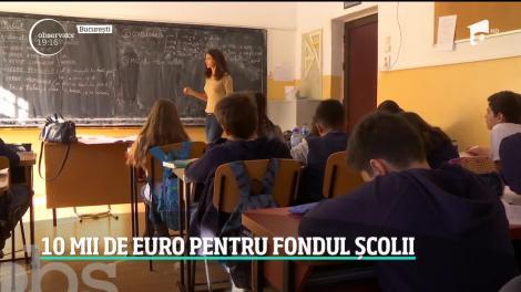 Zece mii de euro, suma pe care au strâns-o elevii de la un liceu din Constanța pentru fondul școlii