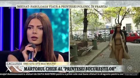 """Andreea Podărescu, dezvăluiri incredibile! """"Prințesa Bucureștilor"""" și-a pus martorul să spună tot adevărul, în direct"""