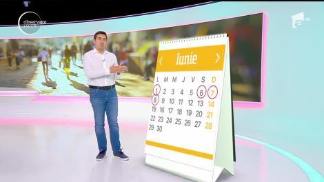 Calendarul minivacanţelor din 2020