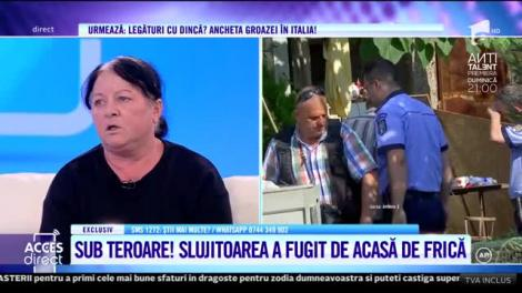 Slujitoarea lui Gheorghe Dincă dezvăluie conversații uluitoare auzite în casa din Caracal. Aceasta simte că viața îi este în pericol