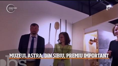 Cel mai mare muzeu în aer liber din Europa, Complexul Muzeal ASTRA, este acum şi primul din România care a primit un premiu foarte important