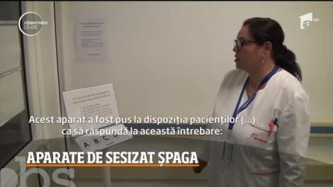 Tot mai multe spitale româneşti încep să trateze corupţia. Sub protecţia anonimatului, pacienţii care ajung la cel mai mare spital din Alba pot spune dacă li s-a cerut şpagă