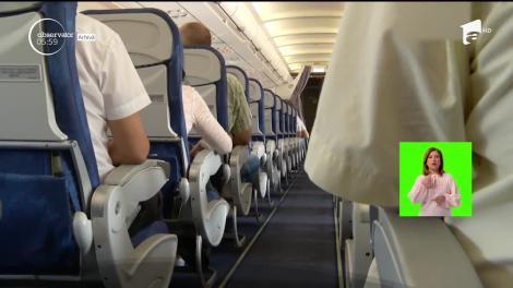 Incident tragic la bordul unei curse Tarom! Ce i s-a întâmplat unei pasagere în toaleta aeronavei este de necrezut! Avionul a aterizat de urgență
