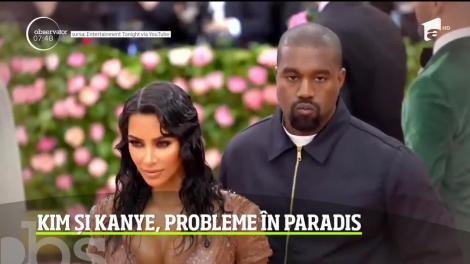 Kim Kardashian, ceartă aprinsă cu Kanye West din cauza rochiei sale de gala MET