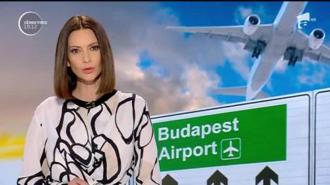 Zeci de români au rămas blocaţi pe aeroportul Internaţional din Budapesta, închis din cauza dronelor ridicate ilegal