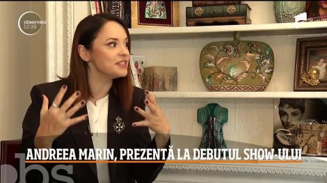 """""""Antitalent"""", cel mai nou show de umor. Andreea Marin, detalii din culisele emisiunii"""