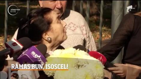 Tamara Buciuceanu Botez a fost condusă pe ultimul drum de prieteni şi de colegi