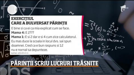 Controversă virală. Matematică i-a zăpăcit pe părinţii elevilor de clasa a IV-a. Tu știi cât face 2+2×2-2×2=?