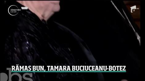 Actriţa Tamara Buciuceanu Botez a fost înmormântată cu onoruri militare