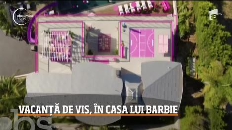 Vacanță de vis, în casa lui Barbie! Locuința poate fi închiriată la un preț încredibil de accesibil