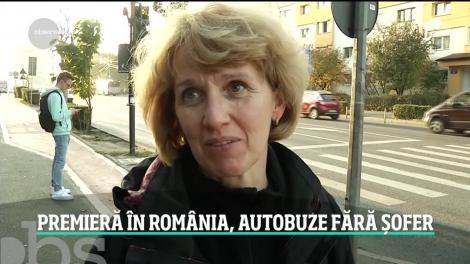 Premieră în România! Primele autobuze fără şofer ar putea circula pe străzile din Cluj-Napoca
