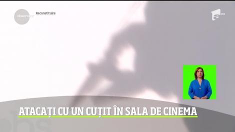 Atac şocant într-o sală de cinema dintr-un mall din Timişoara. Doi tineri au fost înjunghiaţi în timpul proiecţiei unui film de un alt spectator