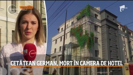 Caz şocant la Timişoara! Un cetăţean german a fost descoperit mort în toaleta camerei de hotel în care fusese cazat de şeful lui