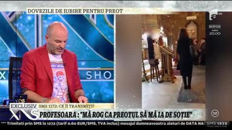 Xtra Night Show. Antonia Enache, profesoară sedusă de preot: Mă rog să mă ia de soție!