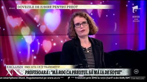 """Antonia, profesoară de limba engleză  îndrăgostită de un preot: """"Mă rog noaptea să mă căsătoresc cu el!""""."""