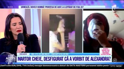 Acces Direct. Martor cheie, desfigurat că a vorbit de Alexandra Măcenașu? Mara Bănică: Eu cred că totul este o poveste, nu e nimic adevărat
