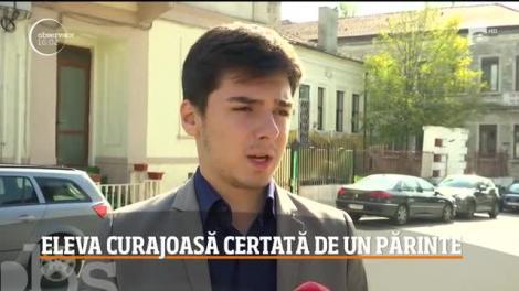Eleva din Constanţa, care a făcut publice tabelele cu sumele strânse de părinţi pentru fondul şcolii, are de suferit din cauza gestului său