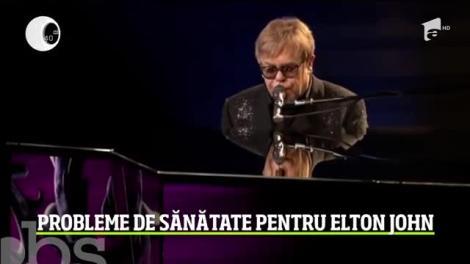 Elton John şi-a amânat un show în Statele Unite, anunţându-şi fanii că se simte extrem de rău