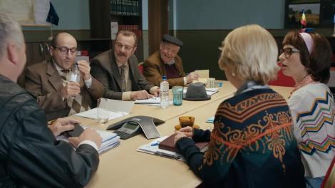 Mangaliță, episodul 6. Primarul Stelu, vizitat de un vechi prieten: Priveliștea ta preferată sunt munții, munții de bani!