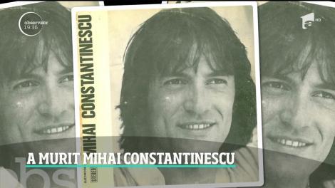 A murit Mihai Cosntatinescu. Cântăreţul s-a stins din viaţă la 73 de ani