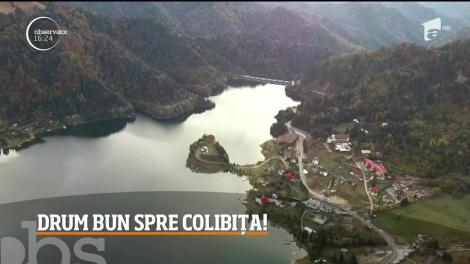 Şoseaua care face legătura între Prundu Bârgăului şi Colibiţa, refăcută în totalitate