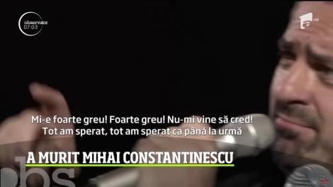 Ne-a făcut copilăria mai frumoasă, mai veselă. Iar acum, după multă suferinţă, Mihai Constantinescu s-a stins din viață la doar 73 de ani