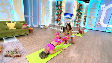 S-au ridicat gradele în termometre pentru domni! Exerciții pentru fesieri sexy, cu Diana Stejereanu! Cum să ai un posterior de invidiat?