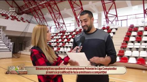 Handbaliştii campioni de la Dinamo București, în direct, la Neatza cu Răzvan și Dani: Vrem să aducem Barcelona în România