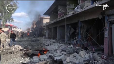 Cel puţin 15 oameni, majoritatea copii, uciși într-un atentat în Siria