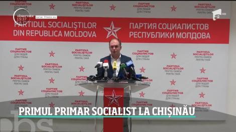 Surpriză la Chişinău! Oraşul va avea, pentru prima dată, un primar socialist