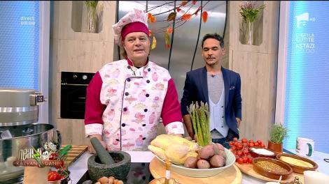 Rețeta Zilei - Neatza cu Răzvan şi Dani. Friptura festivă de pui, un preparat pentru toți pofticioșii